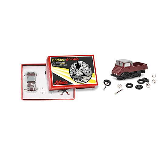Pic.Construction Kit Unimog