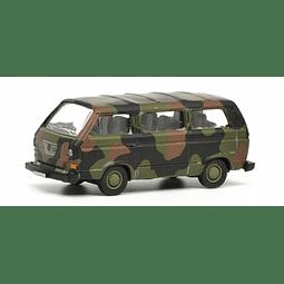 Vw T3 Bus Camuflado 1/87