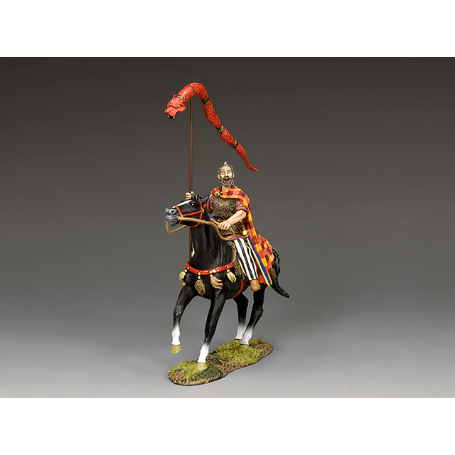 Mounted Chieftain With The Draco St