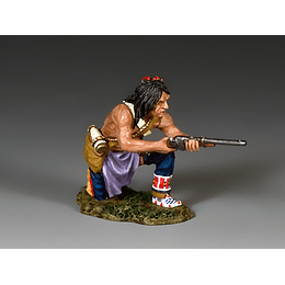 Kneeling Plains Indian W/Carbine