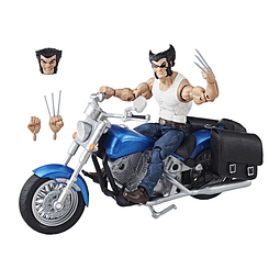 Wolverine With Motorcycle