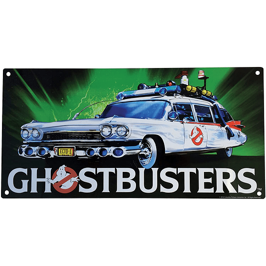 Ghostbusters Ecto 1 Metal