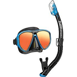 Careta Y Snorkel Tusa Power View