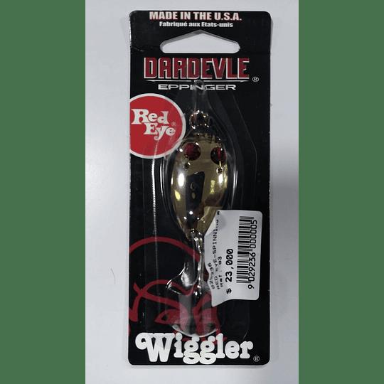 RED EYE-SPIING WIGGLER 3/16OZ