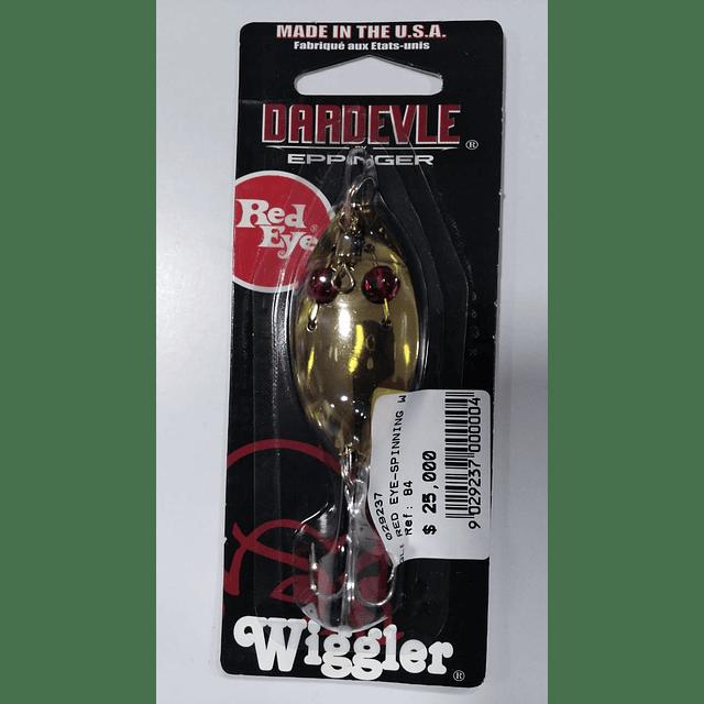 RED EYE SPINNING WIGGLER 1/4 OZ