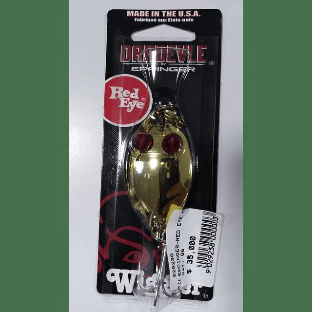 EPPINGER-RED EYE MUSKIE WIGGLE2 1/4
