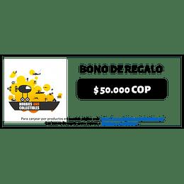 Bono de Regalo $50.000 - Digital
