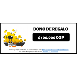 Bono de Regalo $100.000 - Digital