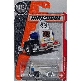 Matchbox Remolque De Control Speed Trapper 1/64