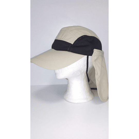 Gorra Outdoor Cap Khaki/Black