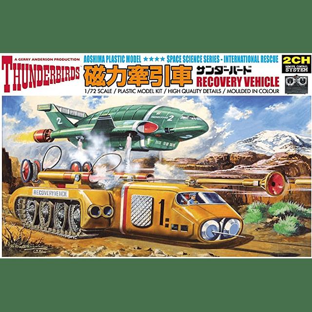 Thunderbirds Juego 5 maquetas