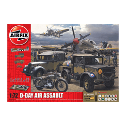 Maqueta D-Day Air Assault 75Th Air Gift Set / Set de asalto aéreo del día D
