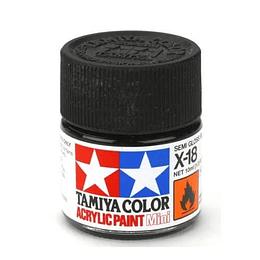 X 18 negro semi mate mini