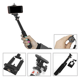 Bastón selfie telescópico Super i-Shot