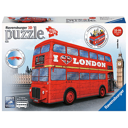 London Bus 216 Piezas 3D