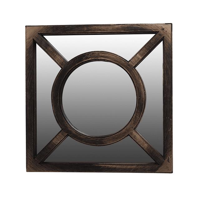 Espejo Square Vintage Gold