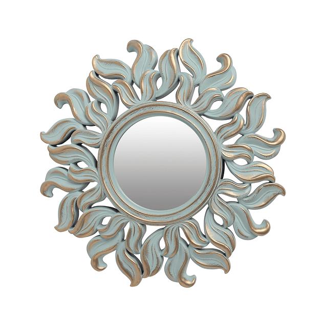 Espejo Sun Verde Menta
