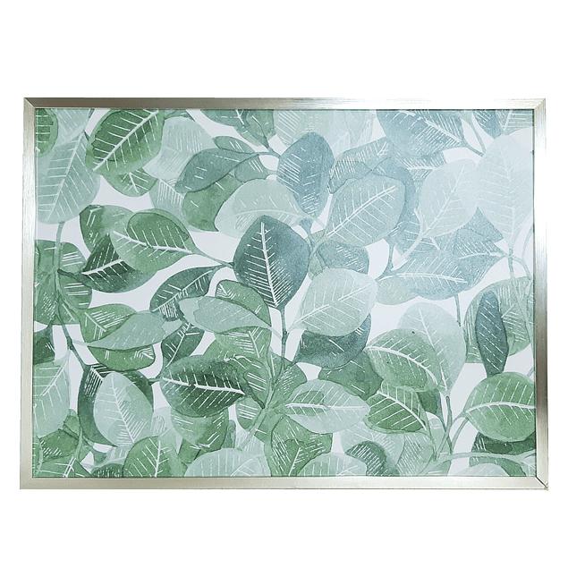 Cuadro Tela 40 x 80 Botánico Apaisado