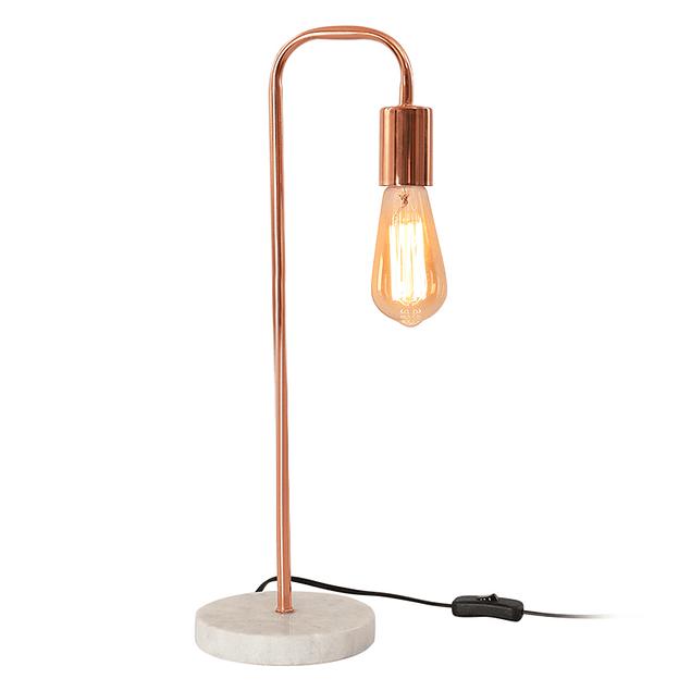 Lámpara de Sobremesa Cooper Marmol