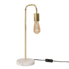 Lámpara de Sobremesa Cooper Mármol Gold