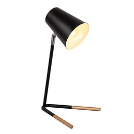 Lámpara de Sobremesa Pastel Black / Gold