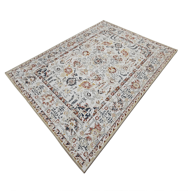 Alfombra Vintage Tabriz - Celeste - 060 x 110