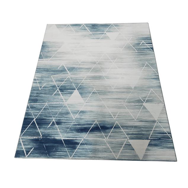 Alfombra Soft Nórdica - Celeste - 060 x 110