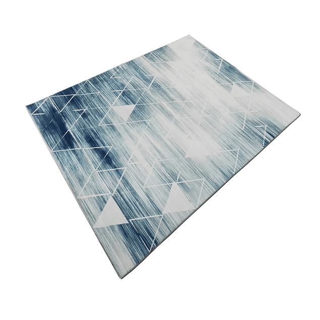 Alfombra Soft Nórdica - Celeste - 150 x 200