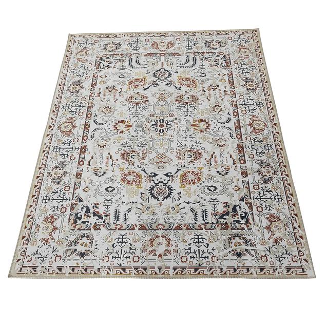 Alfombra Vintage Tabriz - Celeste - 200x 300