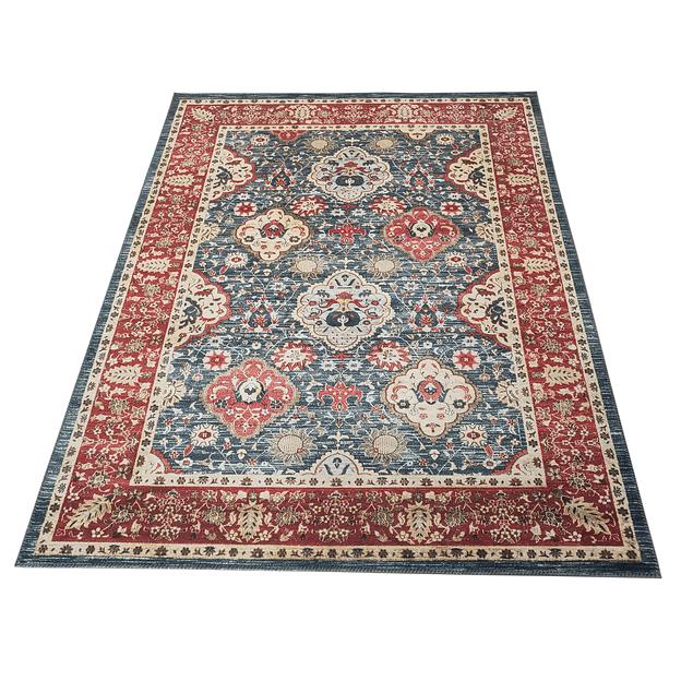 Alfombra Vintage Nómada - Rojo - 200 x 300