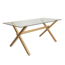 Mesa de Comedor  X Table (6 Personas)