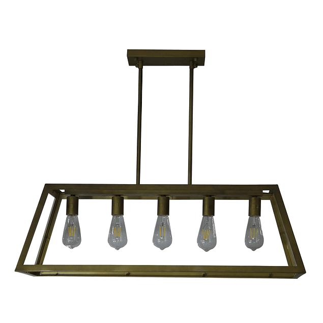 Lámpara de Techo Retro Gold