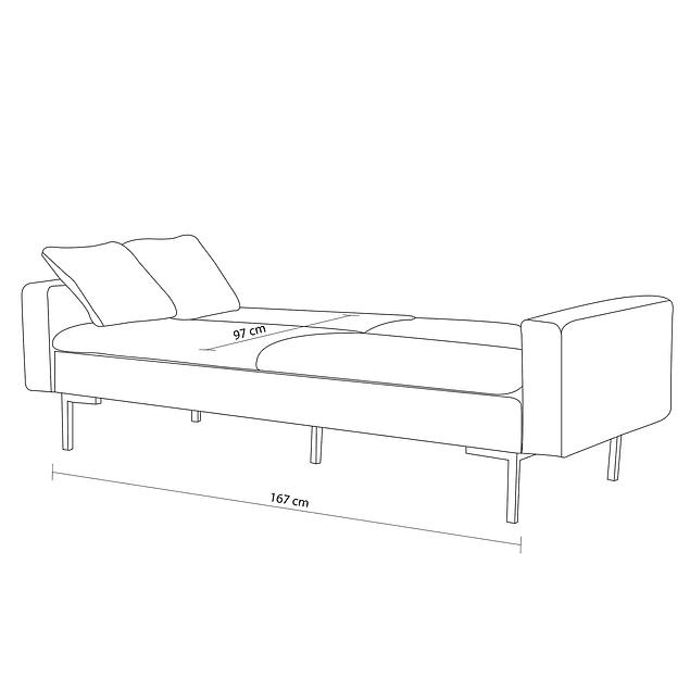Sofá Bed Sky - Celeste