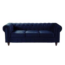 Sofá Fancy Chest  - Azul Electrico