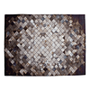 Alfombra Likeleather Square Brown 150x200