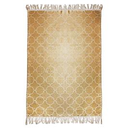 Alfombra Kelim Cotton 150 x 200 HR Gold