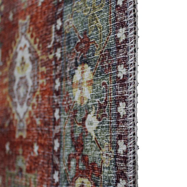 Alfombra Vintage Kashkuli - rojo - 160x230