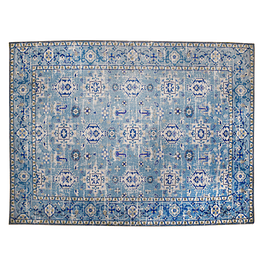 Alfombra Vintage Shiraz - Light Blue - 160 x 230