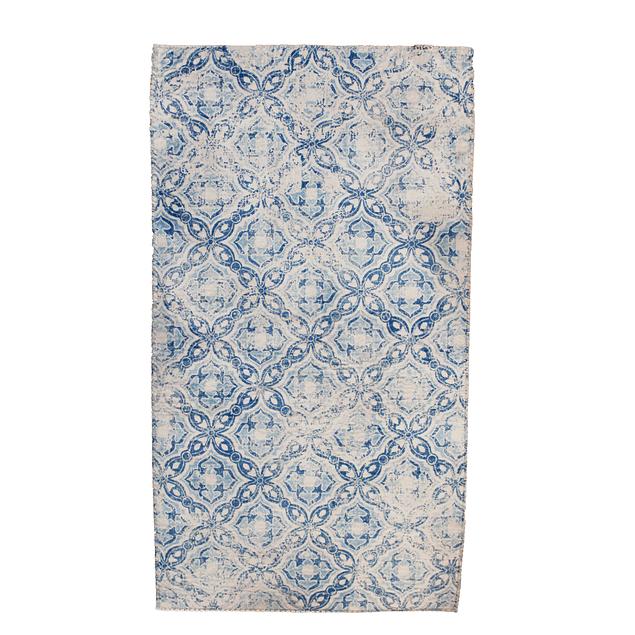 Alfombra Soft - 150x200 - Tribal Ligth Blue