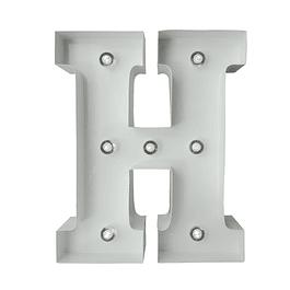 Letra Metalica Led H