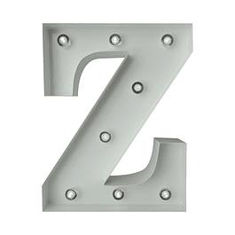 Letra Metalica Led Z