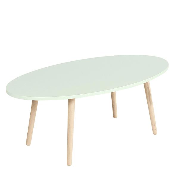 Mesa de Centro Nordica Verde Menta