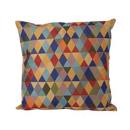 Cojin Impreso Tradicional Prisma Multicolor