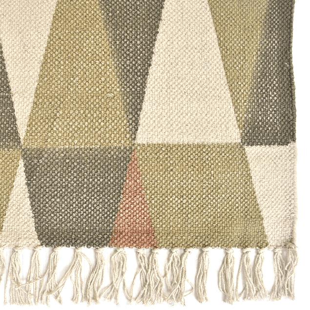 Alfombra Cotton 160 x 230 Prisma Rosa Pálido