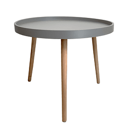 Mesa Lateral Cup Gris