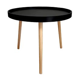 Mesa Lateral Cup Negro