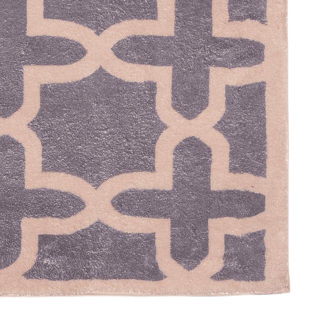 Alfombra Soft Pattern Gris 060x110