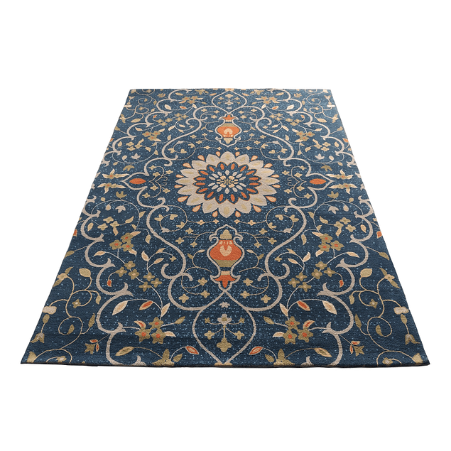 Alfombra Soft Sun Navy Blue 160x230
