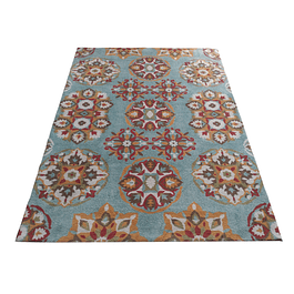 Alfombra Soft Flower Multicolor 150x200