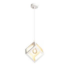 Lámpara de Techo Cubo Vintage Blanca
